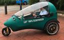 Ngắm xe điện LEF 3 bánh ngộ nghĩnh có giá 120 triệu đồng