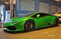 """Siêu bò Lamborghini Huracan xanh lá """"đi guốc"""" Forgiato tại Sài Gòn"""