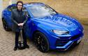 """Lamborghini Urus gia nhập đội """" xế khủng"""" của rocker Tony Iommi"""