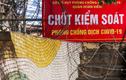 """CLIP: Lập hàng rào thép gai ngăn người dân """"vượt rào"""" khu vực cách ly"""