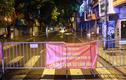 Quận Ba Đình phong tỏa một đoạn phố Đội Cấn