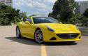 Zoom từng chi tiết Ferrari California T về tay đại gia Sài Gòn