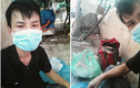 Chàng trai mắc kẹt, ngủ trong hầm đi bộ ở Hà Nội được giúp đỡ