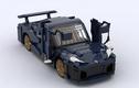 Siêu xe điện Rimac Nevera được làm từ hơn 2.000 mảnh ghép Lego