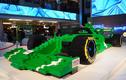 Ngắm mô hình siêu xe đua F1 bằng Lego lớn nhất thế giới