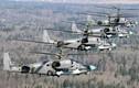Không quân Nga miệt mài huấn luyện duyệt binh trên trời