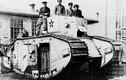Phận thảm các xe tăng đầu tiên của Nga