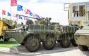 """Vì sao """"taxi chiến trường"""" BTR-82A Nga bỗng dưng mang """"lồng gà""""?"""
