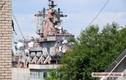 """Lạ thường bên trong tuần dương hạm """"sắt vụn"""" của Ukraine"""
