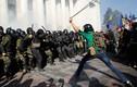 Video bạo động trước cửa tòa nhà Quốc hội Ukraine