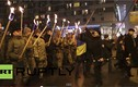 Ukraine đốt đuốc, vung gươm tuần hành như thời trung cổ
