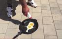 Kinh ngạc rán trứng không cần lửa