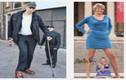 Cận cảnh người đàn ông và người phụ nữ cao nhất thế giới