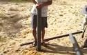 Phục sát đất khoan giếng bằng ống nhựa giữa hoang mạc