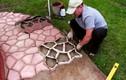 Video: Đẳng cấp của anh thợ xây chuyên lát gạch nền