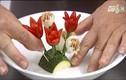 Video: Biến tấu món ăn thành bó hoa ngày 20/11