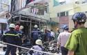 TP HCM: Cháy chi nhánh ngân hàng, thiêu rụi xe máy, ATM chứa tiền