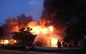 Đang cháy lớn trong khu công nghiệp Việt Nam - Singapore