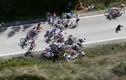 Tai nạn liên hoàn trên đường đua xe đạp