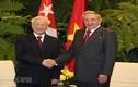 Hình ảnh Chủ tịch Cuba đón, hội đàm với Tổng Bí thư Nguyễn Phú Trọng