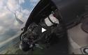 Video: Cảnh tượng ngoạn mục nhìn từ khoang lái chiến cơ F-16