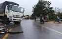 Xe tải tông nhau trên đường đường Hồ Chí Minh, 2 người nhập viện nguy kịch