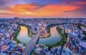 Khoảnh khắc Sài Gòn đẹp lạ thường trong bộ ảnh chụp từ trên cao