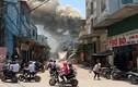 Hà Nội: Cháy lớn tại xưởng gỗ nổi tiếng ở Thạch Thất
