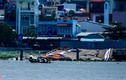 Cận cảnh cầu tàu Ba Son hơn 130 năm tuổi sập xuống sông Sài Gòn