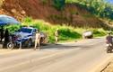 Sơn La: Tài xế lấn làn, đâm thẳng vào xe Cảnh sát giao thông