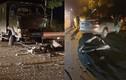 Hai xe biển xanh va chạm trong đêm, một người bị thương