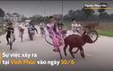 Video: Nhóm thiếu niên đi xe đạp dàn hàng ngang, bốc đầu