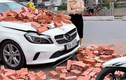 Chủ xe Mercedes bị xích lô chở gạch đâm trúng: Không có ý bắt đền