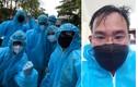 Những hình ảnh xúc động trong tâm dịch COVID-19 tại Bắc Giang