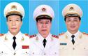 Chân dung 3 thượng tướng vừa được cho thôi giữ chức Thứ trưởng Bộ Công an