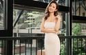 Hoa hậu Jennifer Phạm vai trần gợi cảm với váy dạ hội