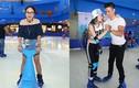 Con gái Thanh Lam, diễn viên Thùy Anh háo hức trượt băng