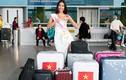 Nguyễn Thị Loan mang 200kg hành lý đến Hoa hậu Hoàn vũ