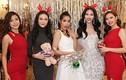 Người đẹp Hoa hậu Hoàn vũ Việt Nam tưng bừng đón Giáng sinh