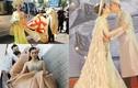Hoa mắt với loạt váy áo của Lâm Khánh Chi trong lễ cưới