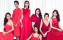 H'hen Niê nổi bật với sắc đỏ cùng dàn người đẹp HH Hoàn vũ VN