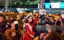 Hương Giang về nước và sự khác lạ tới không ngờ tại sân bay