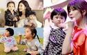 2 cô con gái xinh như thiên thần của Giả Tịnh Văn
