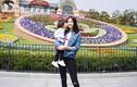 Hoa hậu Trương Tử Lâm đón tuổi mới bên con gái