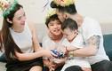 Hot Face sao Việt: Ưng Hoàng Phúc cưng nựng con trai riêng của vợ