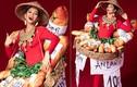 """H'Hen Niê diện trang phục """"bánh mì 10K"""": Sáng tạo hay hàng chợ?"""