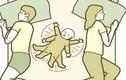 4 tư thế ngủ của trẻ tưởng hại nhưng lại tốt không ngờ