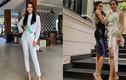 Hoài Sa lộ vẻ gầy gò tại Hoa hậu Chuyển giới Quốc tế 2020