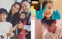 Ngắm con trai lớn bổng, con gái xinh xắn của diễn viên Kim Hiền