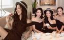 Diva Hồng Nhung mặc gợi cảm khi hội ngộ bạn bè